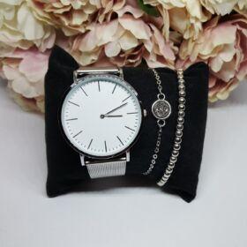 Grey elegant II óra karkötő szett