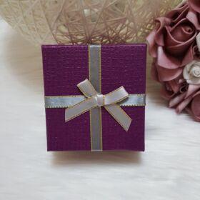 Masnis ajándékdoboz óráknak lila
