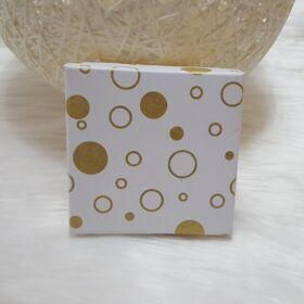 Kör mintás ajándékdoboz 10 x 9,5 cm
