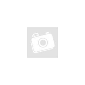 Hasított bőr karkötő, virág mintával