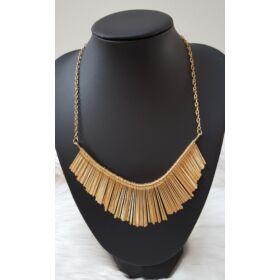 Elegáns arany színű nyaklánc