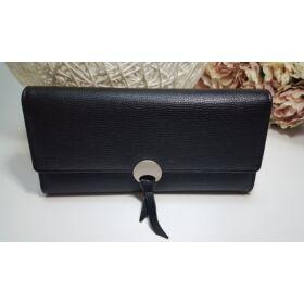 Elegáns női pénztárca fekete