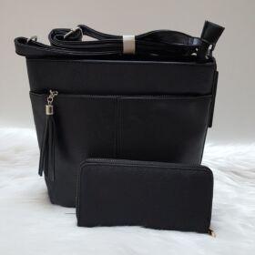 Black lace I táska pénztárca szett
