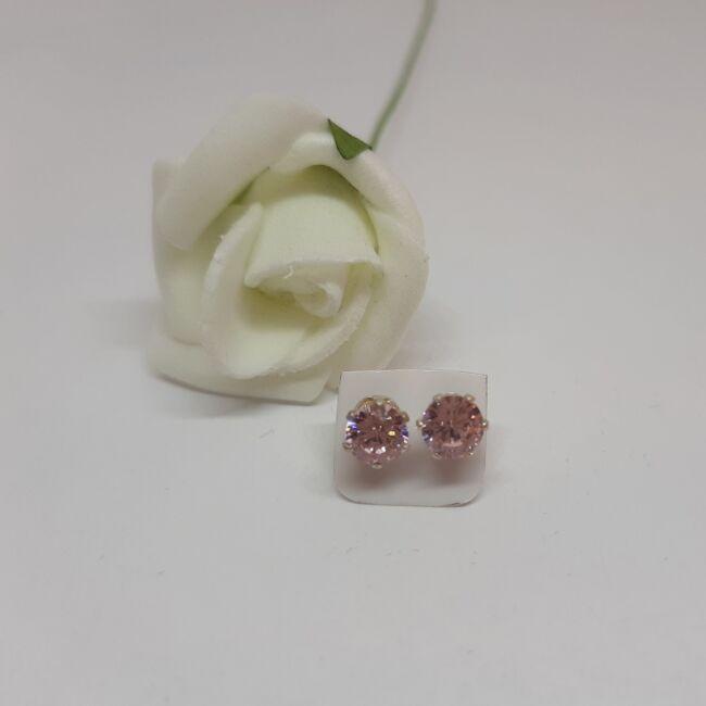 Bedugós Zirconia fülbevaló 5 mm