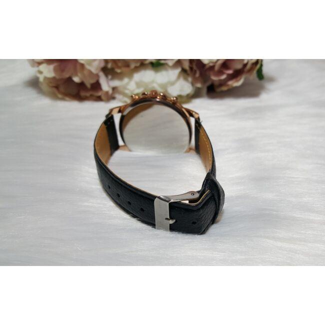 Black elegant óra karkötő szett