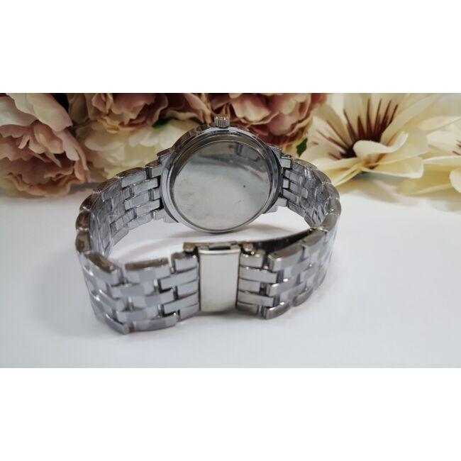 Silver óra karkötő szett