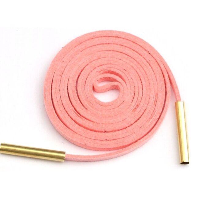 Megkötős choker nyaklánc, rózsaszín arany