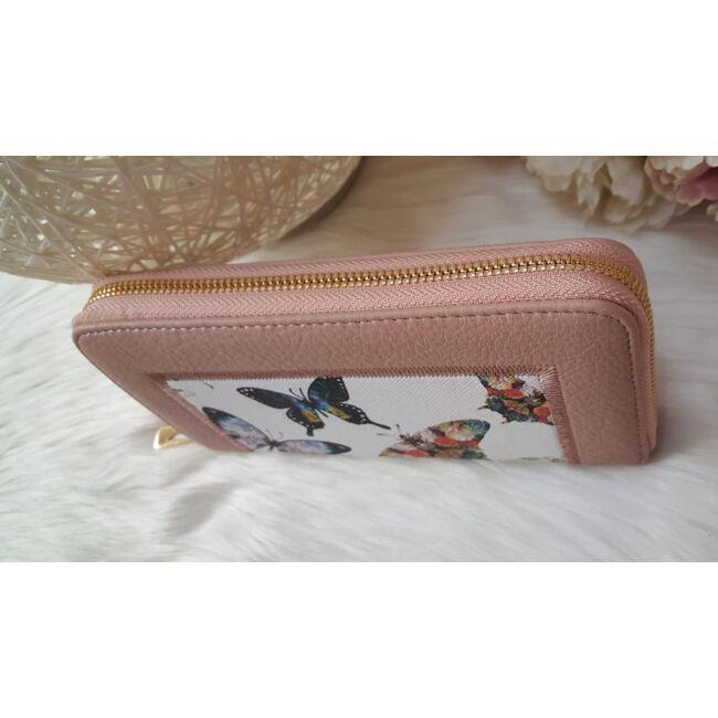 Flower elegant táska pénztárca szett