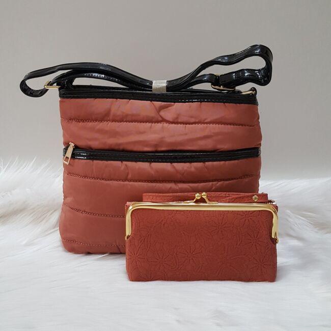 Lazac táska pénztárca szett