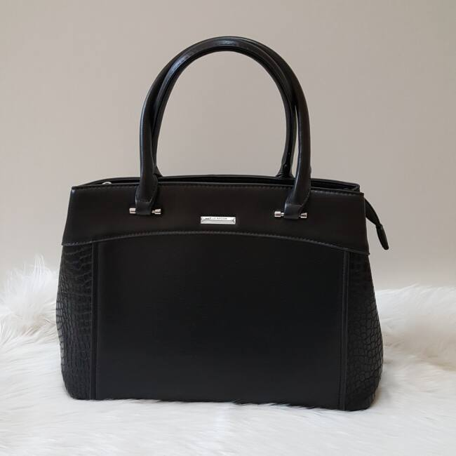 Black elegant táska pénztárca szett