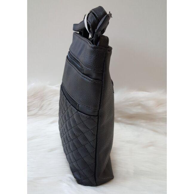 Black romb táska pénztárca szett