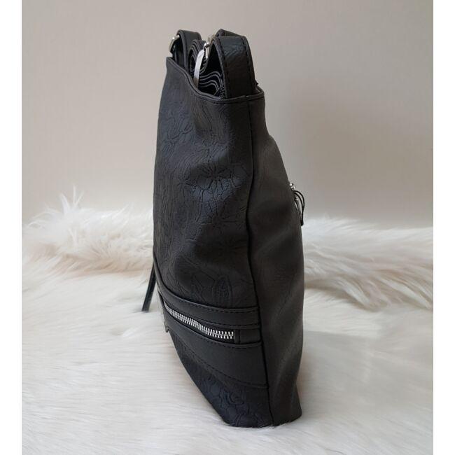Black lace táska pénztárca szett