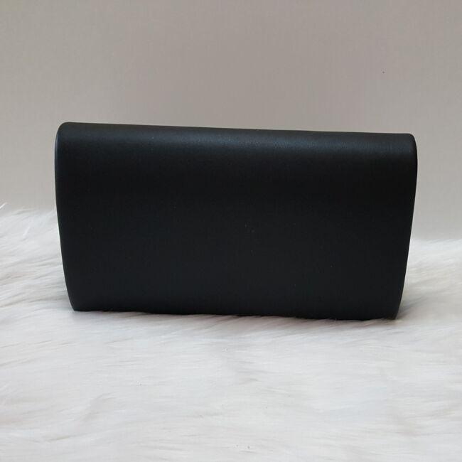 Merev falú elegáns alkalmi kézitáska fekete