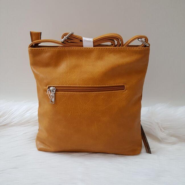 Yellow lace táska pénztárca szett