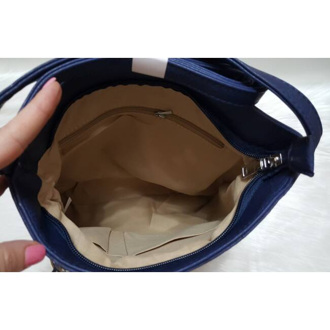 Blue lace táska pénztárca szett