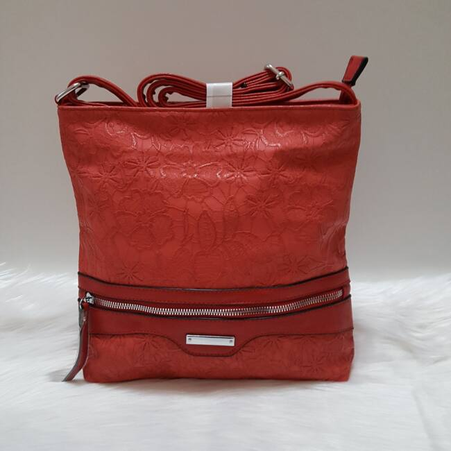 Red lace táska pénztárca szett