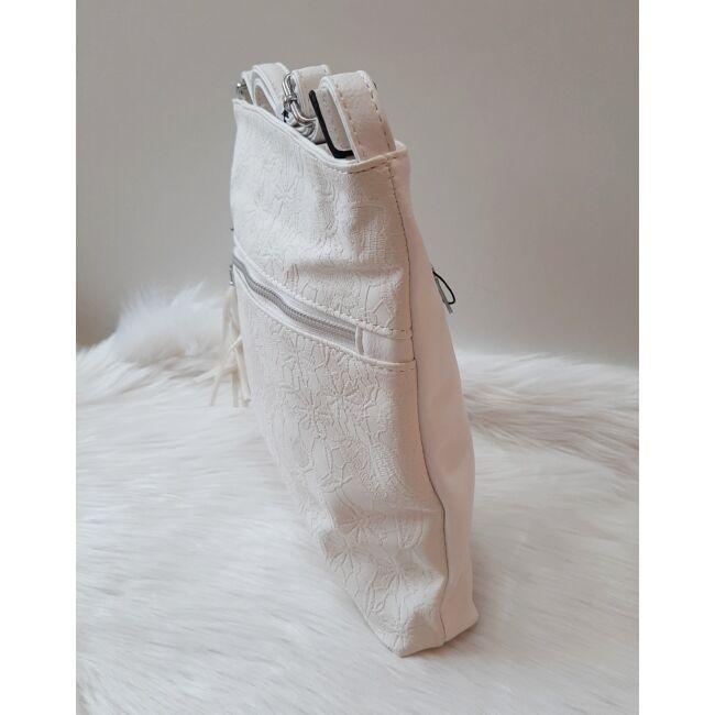 White lace táska pénztárca szett